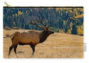 Rocky Mountain Bull Elk Carry-all Pouch