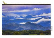 Rocky Mountain Cloud Layers Carry-all Pouch