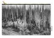 Rocky Mountain High Elevation Forest Large Panorama Carry-all Pouch