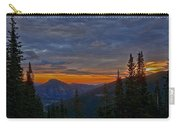 Rocky Mountain High Sunrise Carry-all Pouch