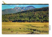 Rocky Mountain National Park Elk Carry-all Pouch