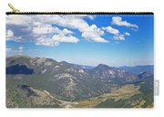 Rocky Mountain National Park Panoramic Carry-all Pouch