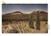 Rocky Mountain National Park Vintage Carry-all Pouch