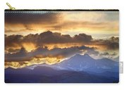 Rocky Mountain Springtime Sunset 3 Carry-all Pouch by James BO  Insogna