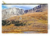 Rocky Mountain Tundra And Lake Carry-all Pouch