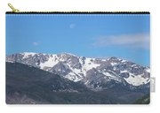Rocky Mountain Waning Gibbous Moon Set Carry-all Pouch