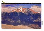 Rocky Mountains And Sand Dunes Carry-all Pouch