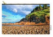 Rocky Oregon Beach Carry-all Pouch