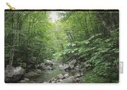 Rocky River In Green Carry-all Pouch