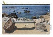 Rocky Seaside Bench Carry-all Pouch
