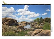 Rocky Shore And Pristine Water Carry-all Pouch
