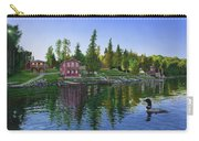 Rocky Shore Lodge Carry-all Pouch