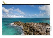 Rocky Shoreline On The Beach At Atlantis Resort Carry-all Pouch