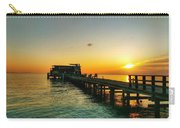 Rod And Reel Pier Sunrise 2 Carry-all Pouch