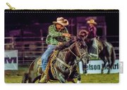 Rodeo Cowboy Carry-all Pouch