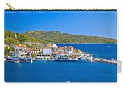 Rogoznica Harbor And Waterfront View Carry-all Pouch