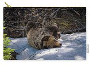 Roll In The Snow Carry-all Pouch