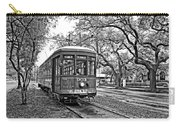 Rollin' Thru New Orleans 2 Bw Carry-all Pouch