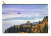 Rolling Fog At Columbia River Gorge In Fall Carry-all Pouch