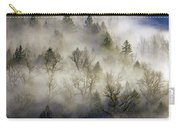 Rolling Fog In Sandy River Valley Carry-all Pouch