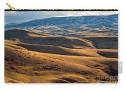 Rolling Foothills And The Bighorn Mountains Carry-all Pouch