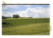 Rolling Green Hills With Trees Carry-all Pouch