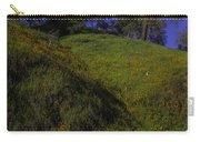 Rolling Hills With Poppies Carry-all Pouch