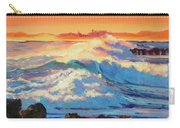 Rolling Ocean Surf - Plein Air Carry-all Pouch
