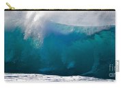 Rolling  Wave At Haleiwa Carry-all Pouch