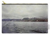 Rolling Waves In A Swiss Lake Carry-all Pouch