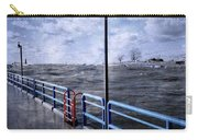 Rolling Waves In Winter At Grand Haven Carry-all Pouch