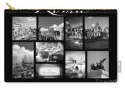 Roma Black And White Poster Carry-all Pouch