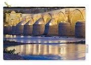 Roman Bridge On Guadalquivir River At Dawn Carry-all Pouch