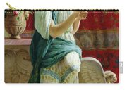 Roman Girl Carry-all Pouch by Guglielmo Zocchi