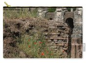 Roman Poppy Carry-all Pouch