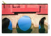 Roman Style Bridge On Red Sea Carry-all Pouch