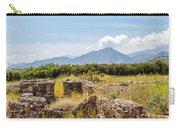 Roman Villa Ruins On Crete Carry-all Pouch