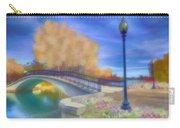 Romance At Elizabeth Park Bridge Carry-all Pouch