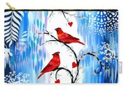 Romance In The Snow Carry-all Pouch