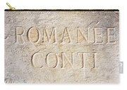 Romanee Conti Carry-all Pouch
