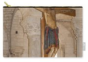 Romanesque Abbey Crucifix Carry-all Pouch