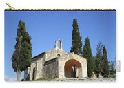 Romanesque Chapel Saint Sixte  Carry-all Pouch