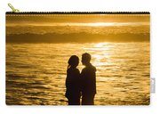 Romantic Beach Silhouette Carry-all Pouch