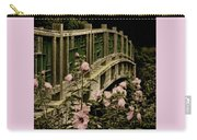 Romantic Garden And Bridge Carry-all Pouch