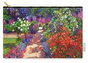 Romantic Garden Walk Carry-all Pouch