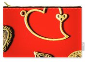 Romantic Heart Decorations Carry-all Pouch