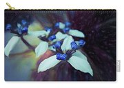 Romantic Island Lilies In Blues Carry-all Pouch