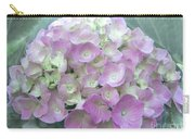Romantic Pink Hydrangea Carry-all Pouch