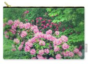 Romantic Rhododendrons Carry-all Pouch