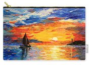 Romantic Sea Sunset Carry-all Pouch